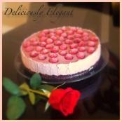 RAW RASPBERY CREAM CAKE